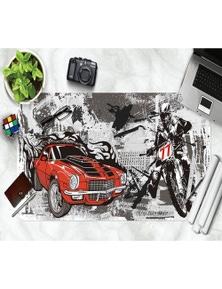 AJ 3D Painting Motorcycle 189 Non-Slip Office Desk Mouse Mat