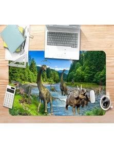 AJ 3D Dinosaur River 185 Non-Slip Office Desk Mouse Mat