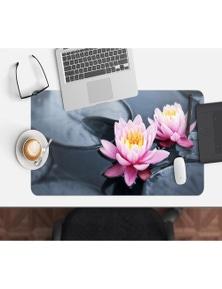 AJ 3D Beautiful Lotus 181 Non-Slip Office Desk Mouse Mat