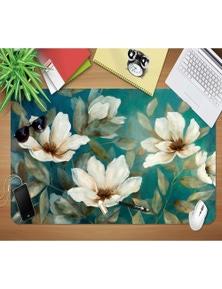 AJ 3D Flower Retro 178 Non-Slip Office Desk Mouse Mat