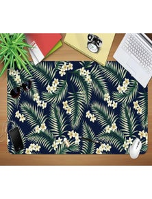 AJ 3D Leaf Flower 169 Non-Slip Office Desk Mouse Mat