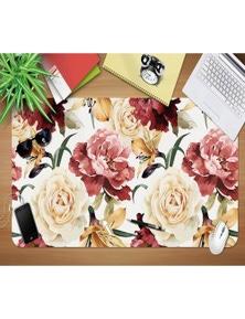 AJ 3D Blooming Flowers 149 Non-Slip Office Desk Mouse Mat