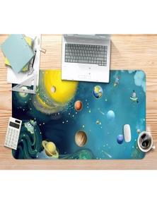 AJ 3D Planet Rocket 120 Non-Slip Office Desk Mouse Mat