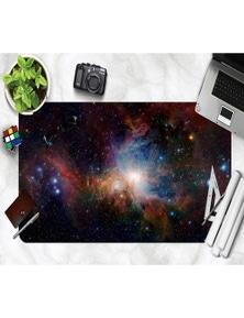 AJ 3D Beautiful Starry Sky 092 Non-Slip Office Desk Mouse Mat