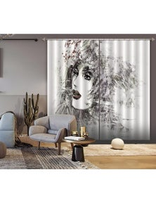 AJ 3D Sketch Model 009 Blockout Photo Curtain