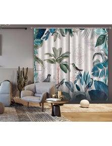 AJ 3D Bird Jungle 023 Andrea haase Curtain Blockout Photo Curtain