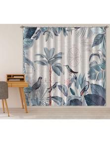 AJ 3D Bird Forest 022 Andrea haase Curtain Blockout Photo Curtain