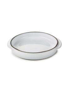 Revol1768 Five star quality 'Caractere' French porcelain round crème brule baking dish - Set of 4