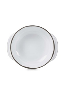 Revol1768 Five star quality 'Caractere' French porcelain round cocotte baking dish - Set of 4