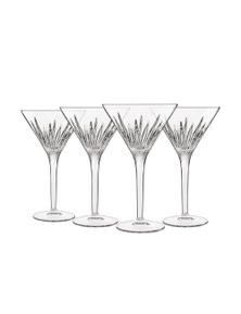 Luigi Bormioli Mixology Martini Glasses Set 4