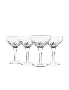 Luigi Bormioli Mixology Cocktail Glasses Set 4