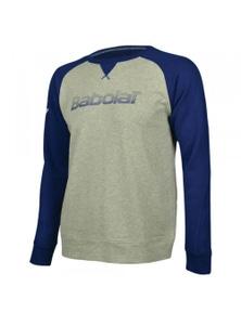 Babolat Boy Core Sweatshirt Warm Sport Junior Kids Children - Grey/Navy