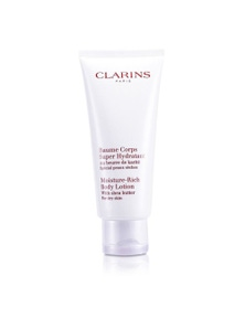 Clarins Moisture Rich Body Lotion with Shea Butter - For Dry Skin 200ml