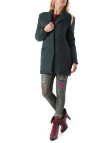 525 Women's Coat In Green