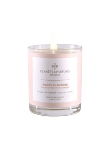 Plantes & Parfums 180g Perfumed Hand Poured Candle - Fruits from the Market
