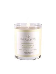 Plantes & Parfums 180g Perfumed Hand Poured Candle - Morning Twilight