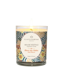 Plantes & Parfums 180g Perfumed Hand Poured Candle - Sand Flowers