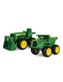 John Deere 15cm Sandbox Vehicle with Dump TruckTractor