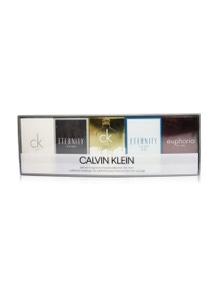 Calvin Klein 5Pc Mini Edt by Calvin Klein for Male - GIFT SET