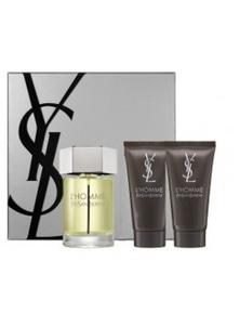 L'Homme By Ysl 3Pc by Yves Saint Laurent for Male (100ML) Eau de Toilette - GIFT SET