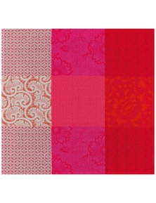 Le Jacquard Francais Cotton Napkin 'Flowers From Kyoto' Pack