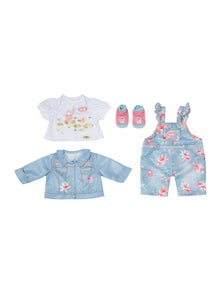 Baby Annabell Active Deluxe Jeans For 43Cm Kids Doll
