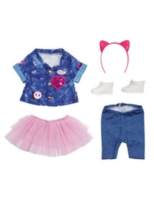 Baby Born Deluxe Jeans and Dress Set for 43cm Dolls