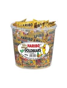 Haribo Goldbears Mini Bags Bucket 980g Candy 100PK