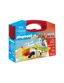 Playmobil - Vet Visit Carry Case