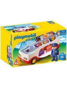 Playmobil - 1.2.3 Airport Shuttle Bus