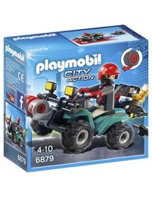 Playmobil - Robber's Quad with Loot