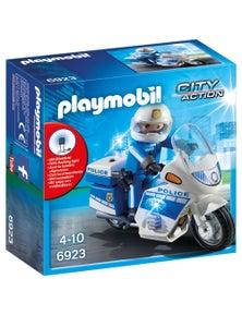 Playmobil - Police Bike with LED Light