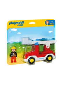 Playmobil - 1.2.3 Ladder Unit Fire Truck