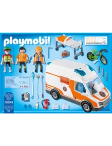 Playmobil - Ambulance with Flashing Lights