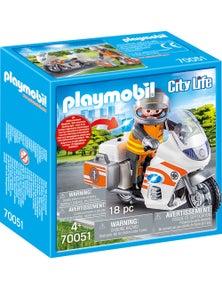 Playmobil - Emergency Motorbike