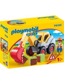 Playmobil - 1.2.3 Shovel Excavator