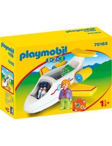 Playmobil - 1.2.3 Plane with Passenger
