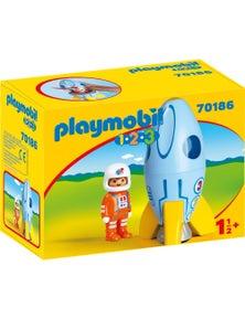 Playmobil - 1.2.3 Astronaut with Rocket