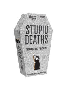 U Games Stupid Deaths Card Game Tin/Dumb Criminals The Board Game 2pc
