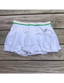 Adidas Girl's Stella McCartney Asmc Barricade Tennis Skirt Sport Kids - White