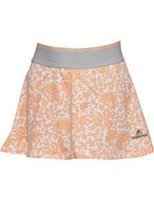 Adidas Girl's Stella McCartney Barricade Tennis Skort Sport Kids - Peach/White
