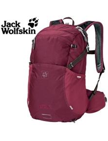 Jack Wolfskin Moab Jam 18 Women's Backpack Day Pack Ladies Hiking Bag Dark Ruby