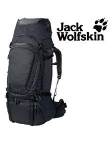 Jack Wolfskin Denali Backpack 75 Mens Hiking Bag Trekking Hiking Pack - Phantom