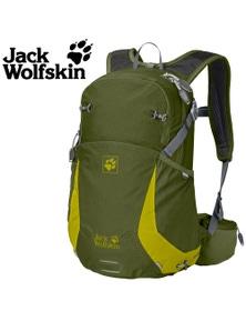 Jack Wolfskin Moab Jam 18 Back Pack Cypress Green Backpack Hiking Bag Reflectors