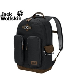 Jack Wolfskin 7 Dials Photo Pack Recycled Camera Laptop Bag Backpack - Black