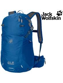 Jack Wolfskin Moab Jam 24 Men Women Hiking Backpack Trekking Bag Electric Blue