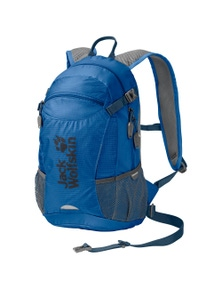 Jack Wolfskin Velocity 12L Backpack Men's Bag Hiking Travel Rucksack Electric - Blue