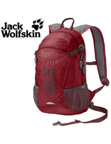 Jack Wolfskin Velocity 12L Backpack Men Women Pack Cycling Bike Bag Red Maroon