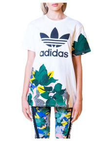 Adidas Women's T-Shirt In White