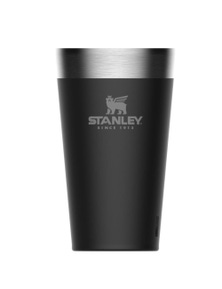 Stanley Adventure 470ml Vacuum Insulated Black Stacking Beer Pint